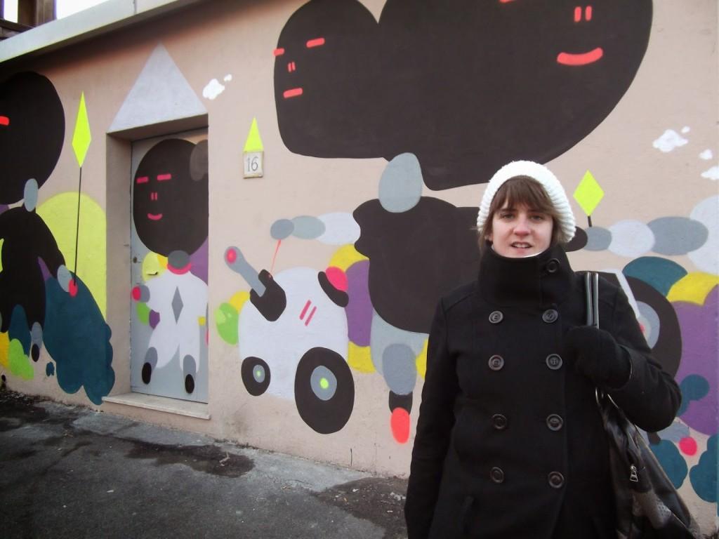 street art, garbatella