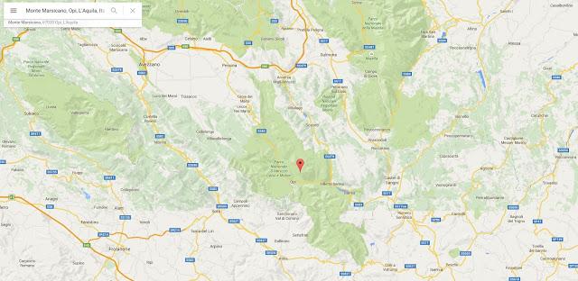 Monte Marsicano où