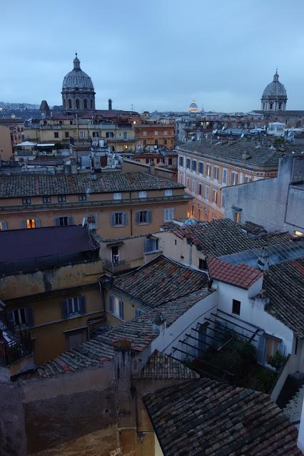 Itinéraire romain : Rome des jardins aux toits