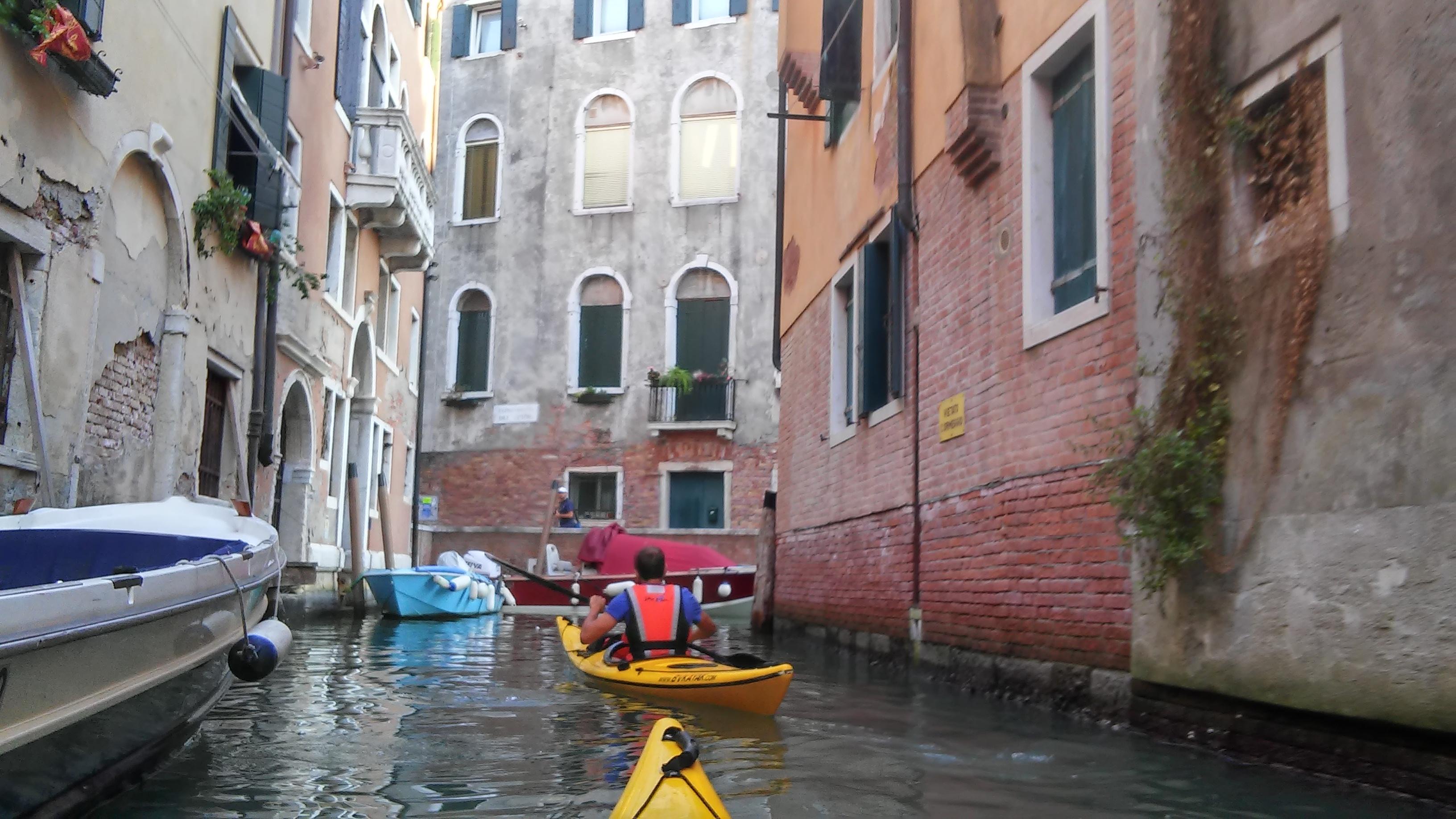 Faire du kayak à Venise, #idéecool
