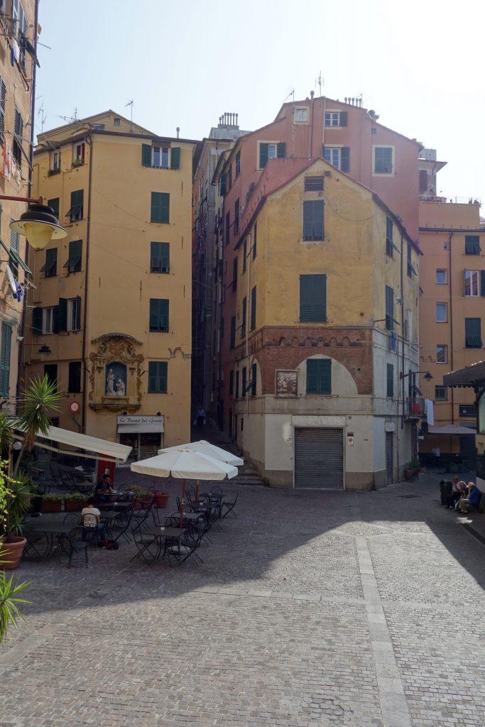 gênes piazza