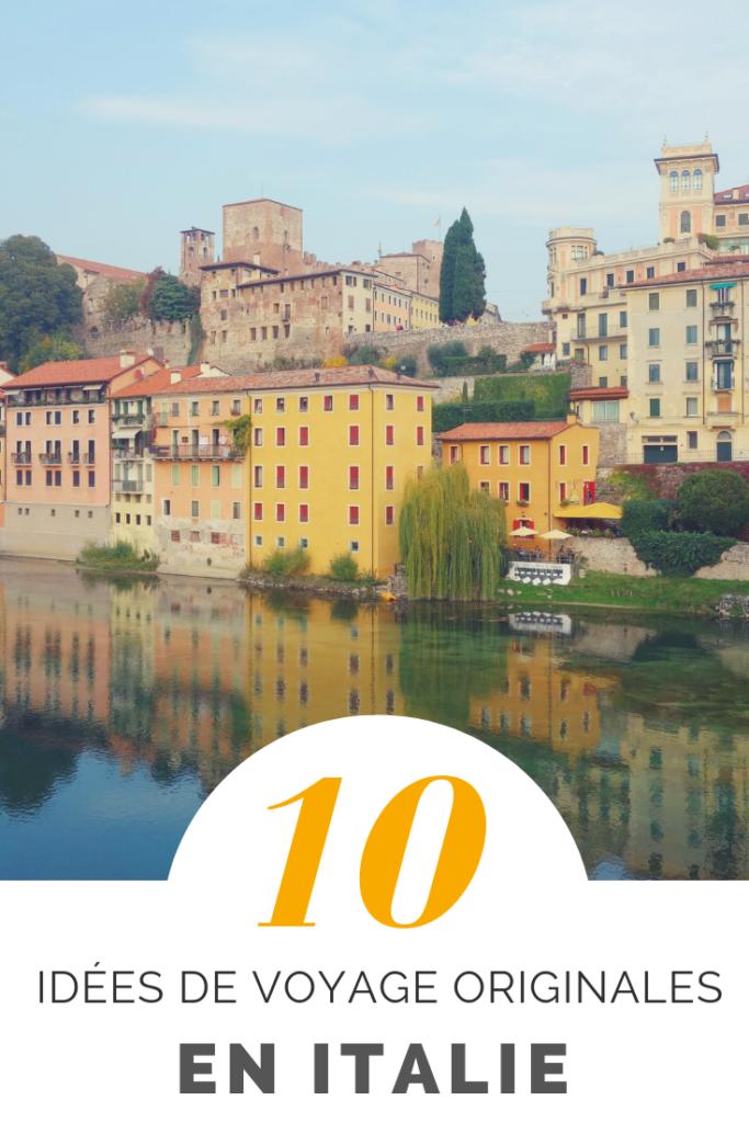Mes idées de voyage en Italie