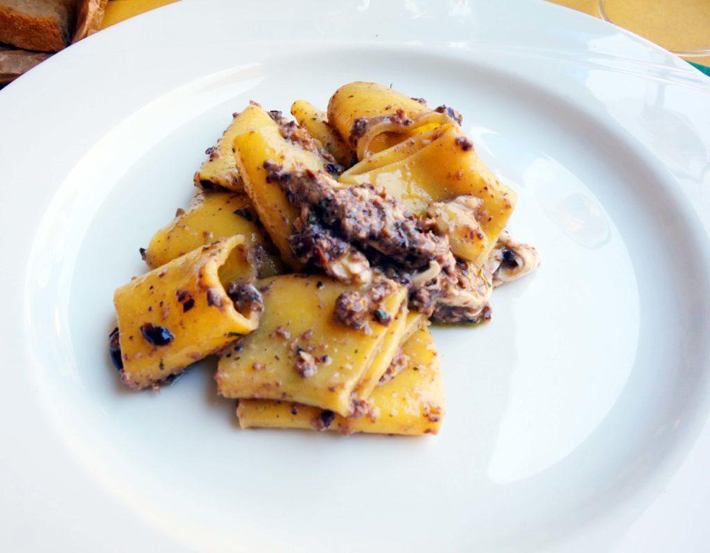 Réussir pasta italie
